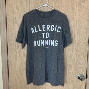 Muscles and Donuts Allergic to Running Tee